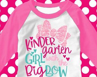 Kindergarten svg, Kindergarten Girl svg, Back to school svg, Girls svg, DXF, EPS, svg, kindergarten, kindergarten shirt, iron on, transfer