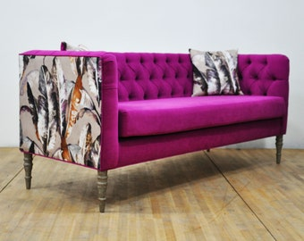 "Loveseat - purple sky ""3 seater sofa"""