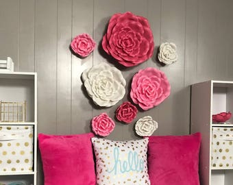 ultra fluffy pink pillow cover with envelope back