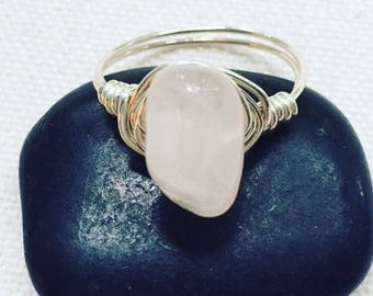 Handmade Quartz Ring