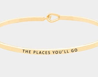 Inspired bangle bracelet ( the pleases wil go)