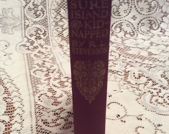 VINTAGE 1920'S Treasure Island  / Kidnapped by Robert Louis Stevenson / Good Condition