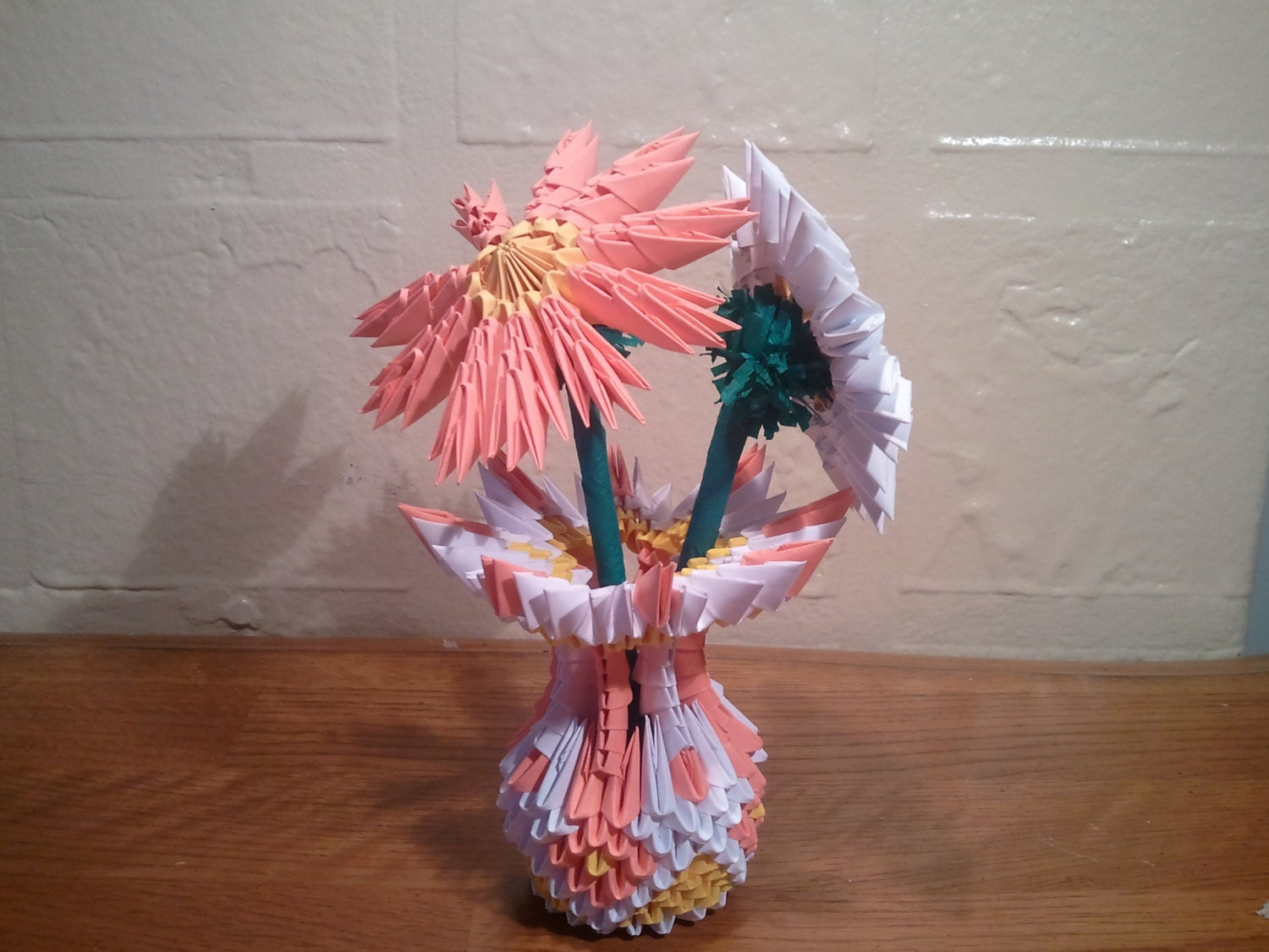 3d origami small vase with flowers zoom reviewsmspy