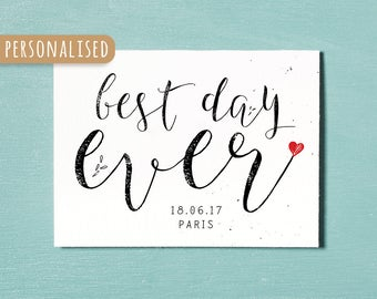 Personalised Anniversary Card, Birthday Card, Wedding Day, Engagement Card, Instant Download Printable, Couples Relationship Card, Love Card