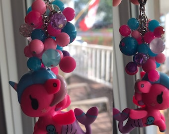 Neon pink fob