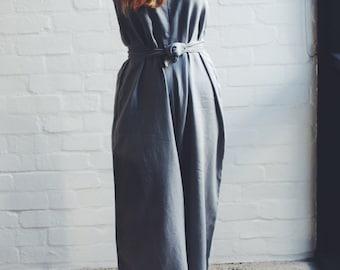 100% Linen Jumpsuit handmade in Melbourne