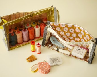 Boxy Clear Pouch - Paper Sewing Pattern by Aneela Hoey