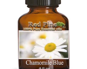 Chamomile Blue Essential Oil - German Chamomile Matricaria chamomilla - 100% Pure Therapeutic Grade