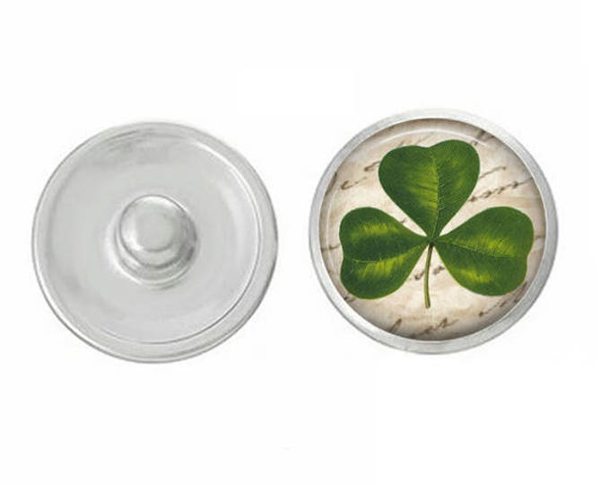 Saint Patricks Day Snaps - Coordinate With Studio66 LLC Snap Bases - Irish - Clover - Celtic - Snaps - Buy One or Buy the Whole Set
