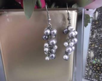 Dangle Beads Earrings