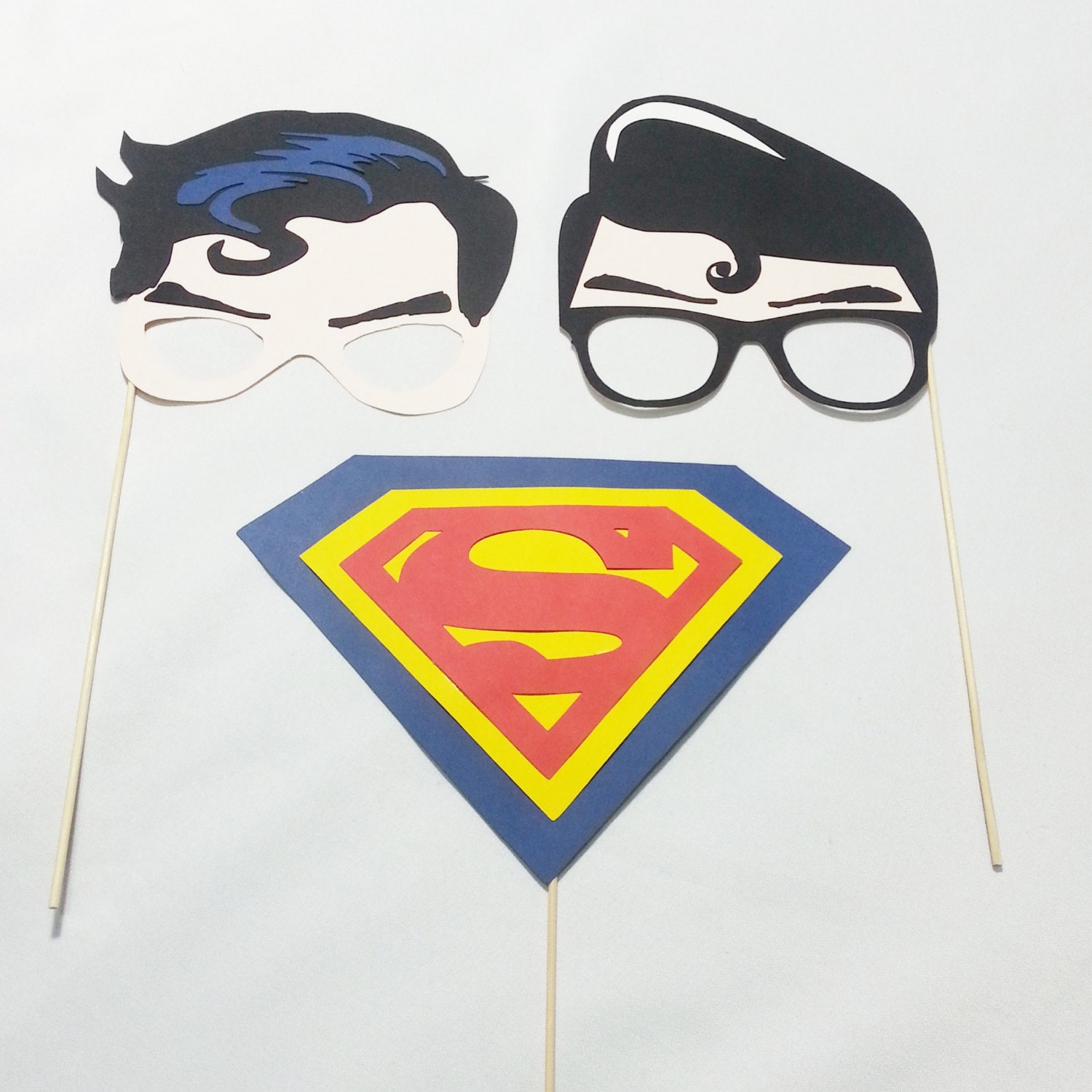 Superman/Clark Kent party props