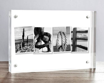 HOME acrylic photo letter block, coast photo letters, house warming gift, new home gift, anniversary gift, alphabet photography, letter art