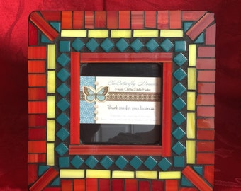 Southwest Mosaic Picture Frame