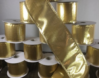 "WIRED 2.5"" METALLIC GOLD 4 Roll Special"