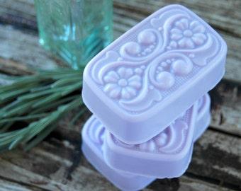 Blackberry Sage Soap . Homemade Soap . Best Friend Birthday Gift . Gift for Women . Gift for Mom . Shea Butter Soap