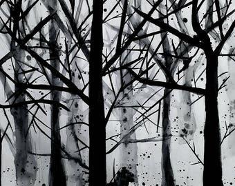 Inky Trees