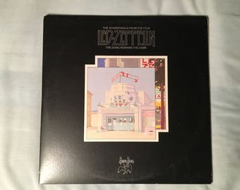 Led Zeppelin - The Song Remains the Same (Movie Soundtrack) - Swan Song Pressing SS 2-201 - 1976