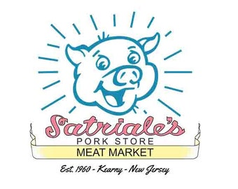 The Sopranos - Satriale's Pork Store Meat Marke T-Shirt