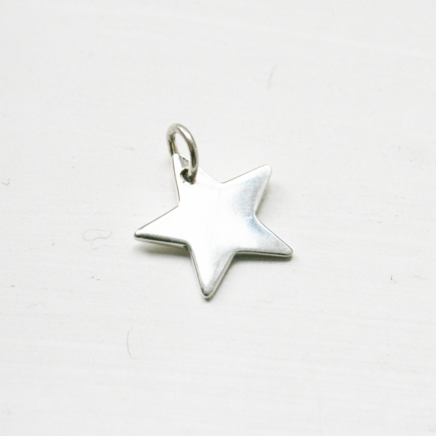 Sterling Silver Star Charm UTMqZ0