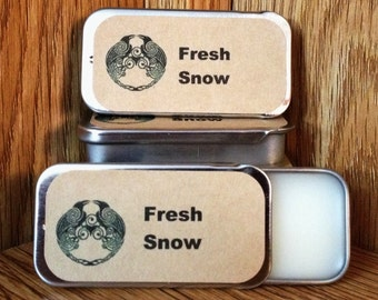 Fresh Snow Solid Perfume Balm
