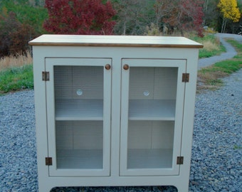 Painted TV Console, Media Console, Rustic TV Stand