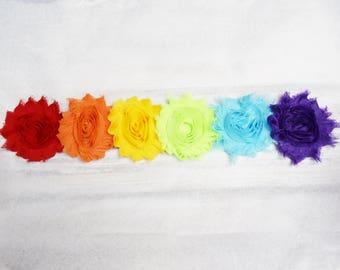 rainbow headband, flower crown headband, girl headband, flower hair bow, rainbow hair bow, baby headband, halo headband for babies, rainbow