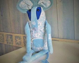 cloth mouse plush doll - baby teeth
