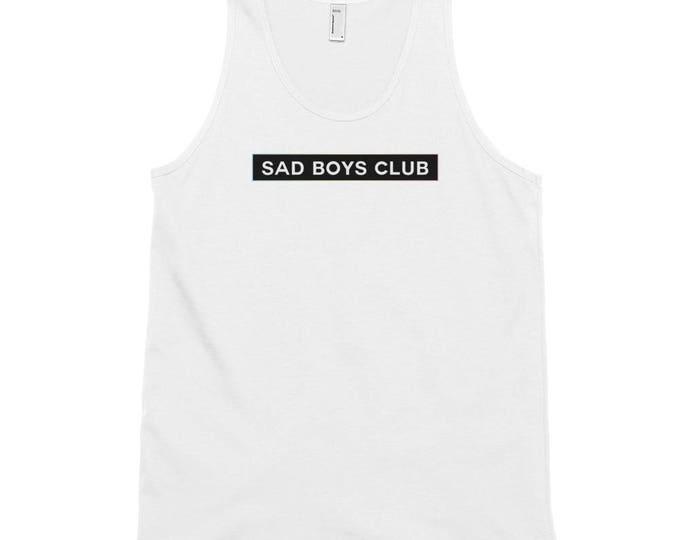 Sad Boys Club Unisex Tank Top