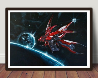Final Fantasy VIII Ragnarok - Large Print 42x59.4cm