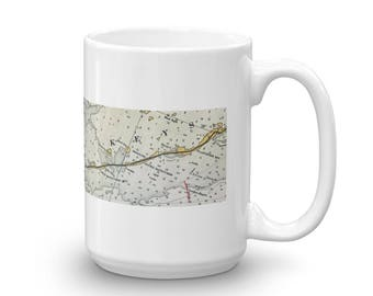 Florida Keys Nautical - Ceramic Mug