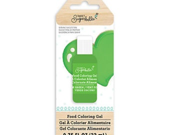 Sweet Sugarbelle Gel Food Coloring .75 oz - Dark Green
