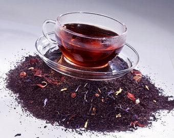 Tea Teabags 50 Black Raspberry Hand Blended tea bags
