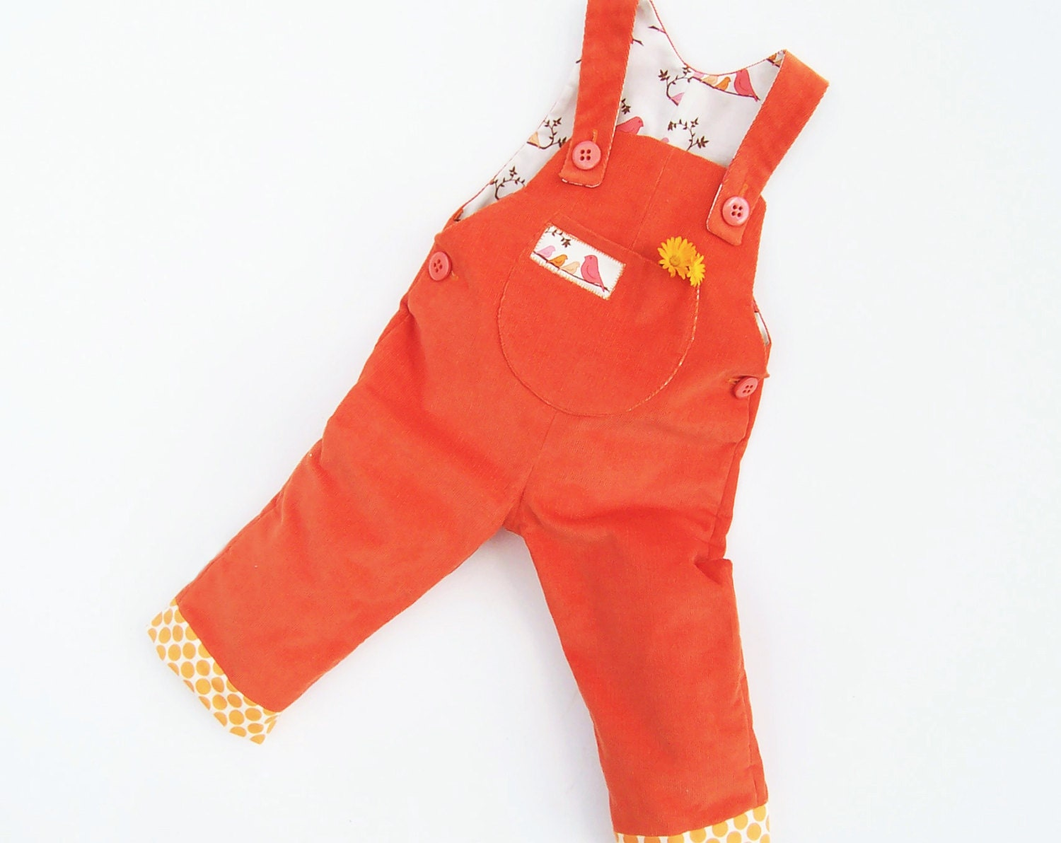 Little birds baby romper sewing pattern pdf overall zoom jeuxipadfo Gallery