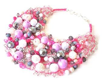 kama4you 3035 necklace crocheted boho