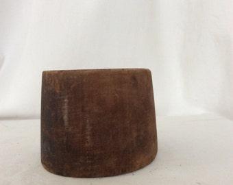 vintage milliner fez block