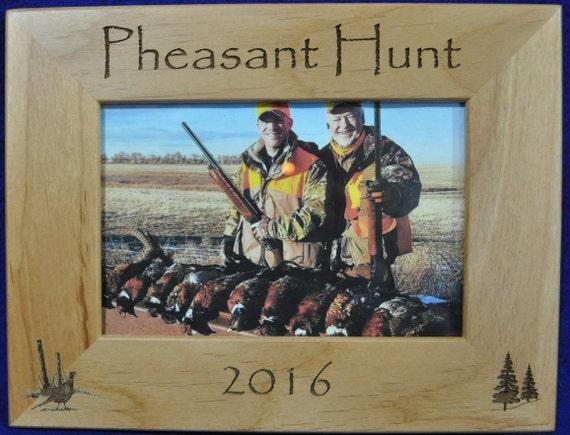 Hunting Frames ~ Pheasant Hunting Frame ~ Hunting Gift ~ Gift For ...