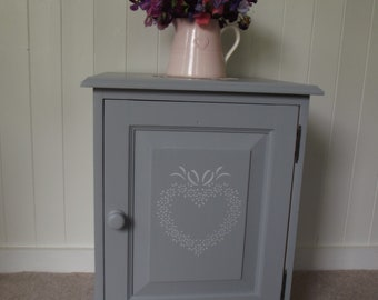 Painted Beside Cabinet Small Cupboard