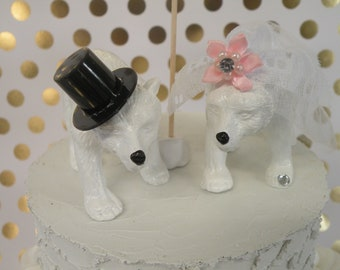 Polar Bear Wedding Cake Topper. FREE shipping in the US.