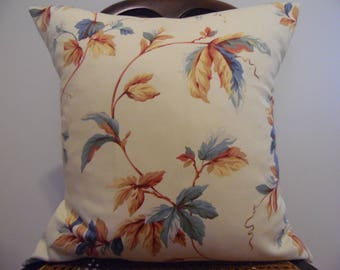 LEAVES Pillow Covers.Slip Covers.Leaves.Home Decor.Country Living Pillow Covers.Farmhouse Pillows.Pillows.Bedroom Pillows.Gift for Her