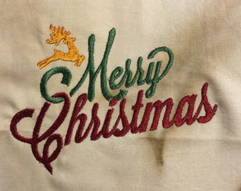Merry Christmas Machine Embroidery Patterns / Designs Both 4x4 & 5x7 Sizes INSTANT DOWNLOAD .pes. art. jef .sew .hus .dst .art70 .xxx .vip