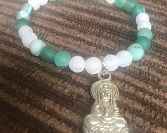 Pharaoh handmade beaded bracelet