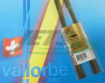 Vallorbe Saw Blades 8/0 Glardon Swiss Made Original Lames De Scie 1gross (1E)