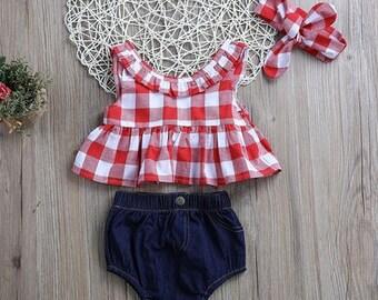 Red & White 3-piece