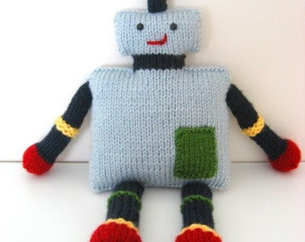 Amigurumi Knit Robot Pattern Digital Download