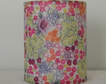 Retro floral LED tealight lantern