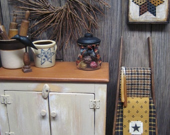RESERVED Dollhouse Miniature