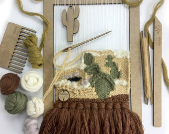 Weaving Loom Kit | Beginners learn to weave