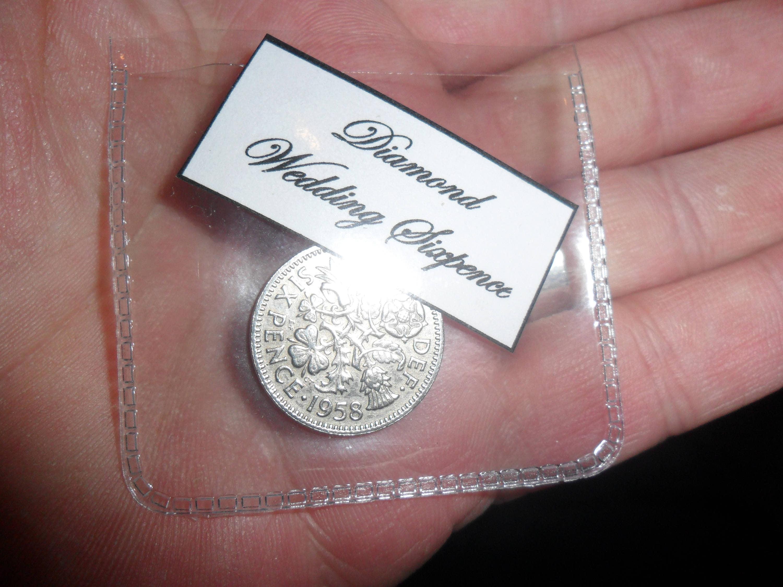 Diamond Wedding Gift Ideas: Diamond Wedding Anniversary Gift 60th Wedding Present 1958