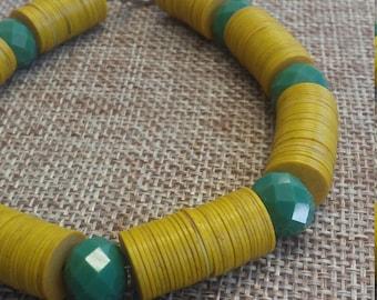 Vulcanite Bracelet
