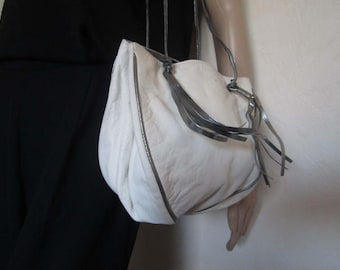 Vintage 80s leather bag bag bag leather bag